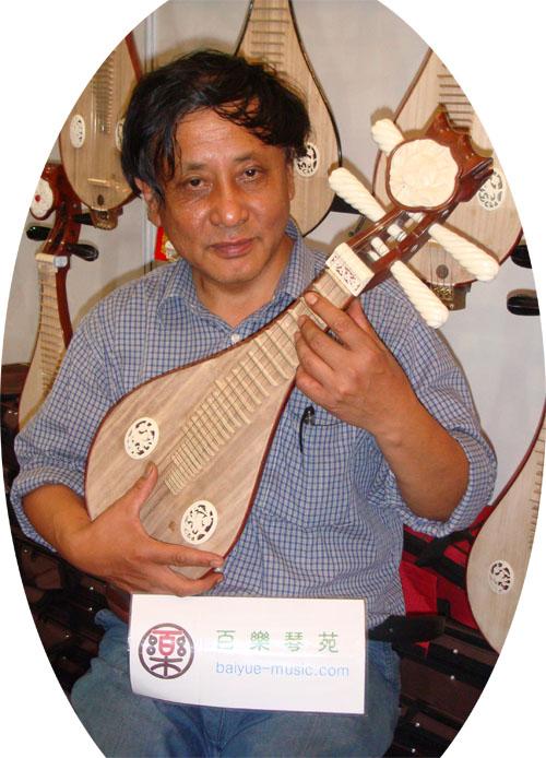 徐州柳琴製作師孟憲洪師父